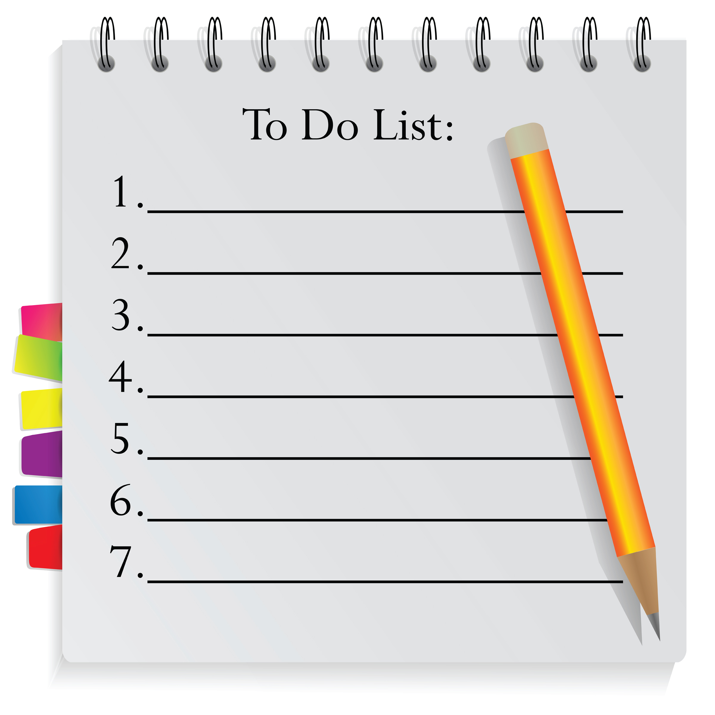 To-Do List - Cutting Out Diabetes