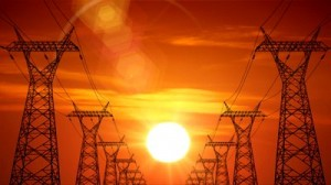 electric-power-pylons-during-sunset